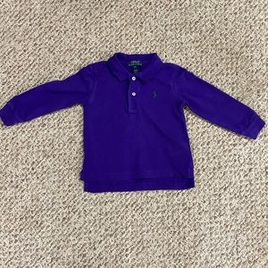 Polo Ralph Lauren Boys Long Sleeve Polo Shirt 18M